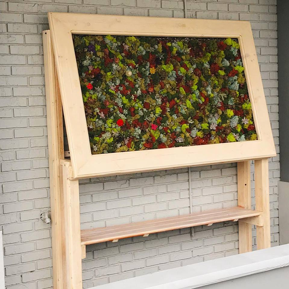 Vertical Garden Table