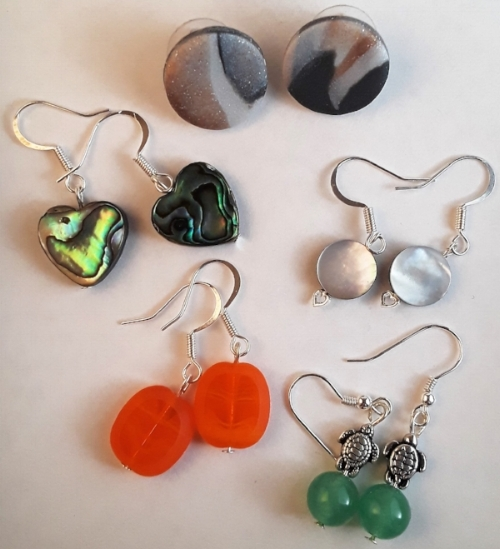 New earrings by Jeana, available soon in store.