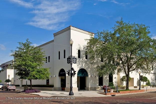 The Charles Hosmer Morse Museum of American Art in Winter Park, FL.