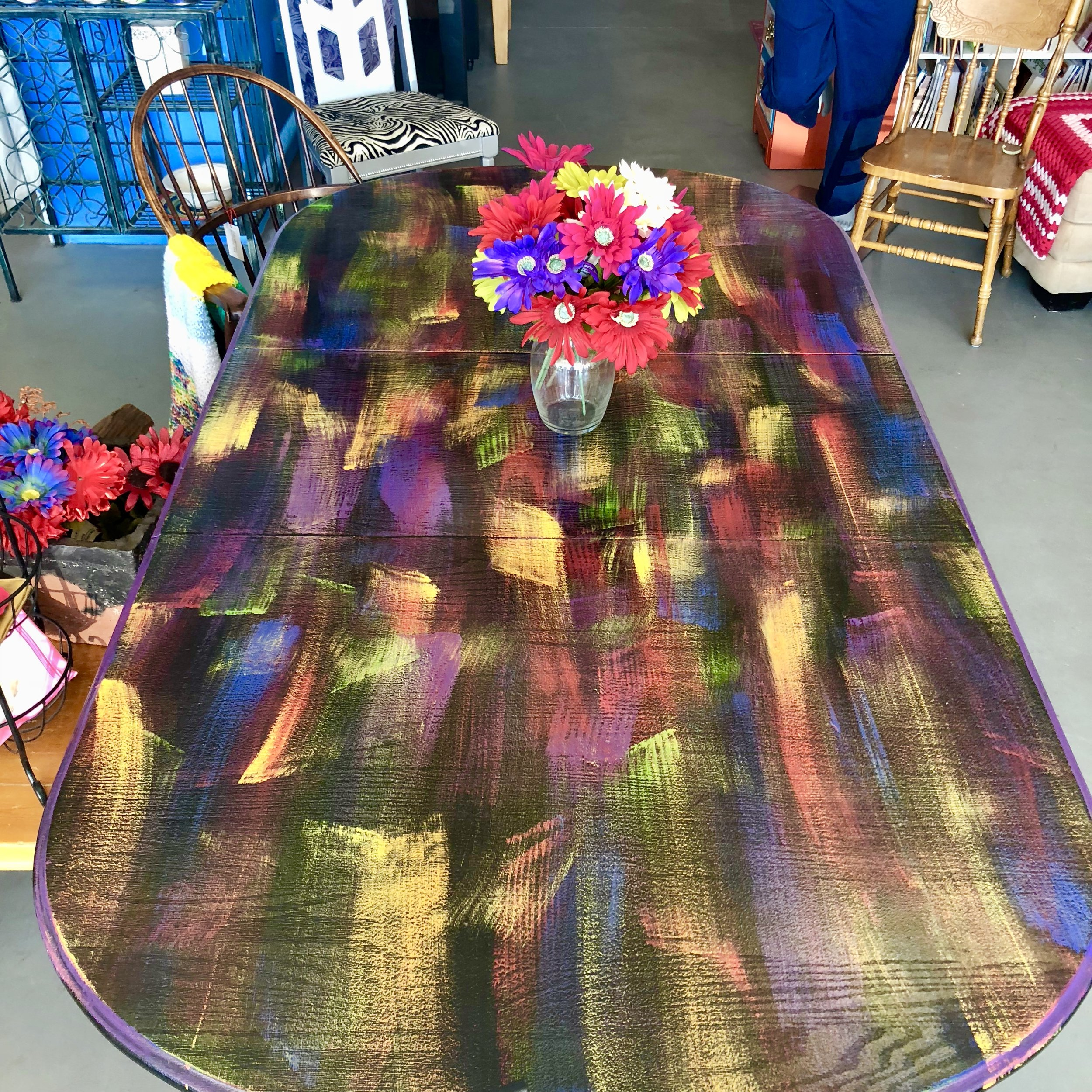 Kaleidoscope Dining Table