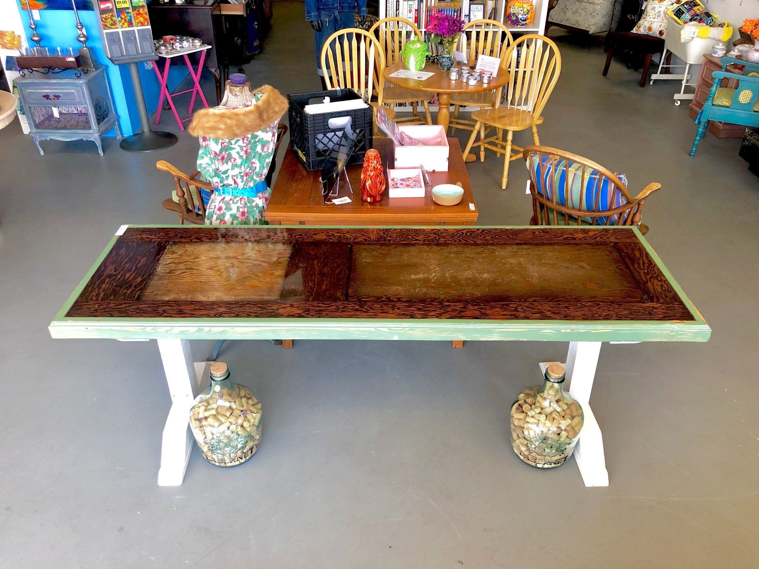 Reclaimed Door Table
