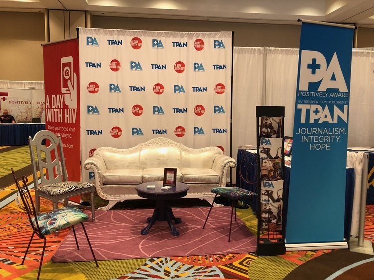 Andee's furniture at TPAN's booth at USCA2018. Visit  www.tpan.com  to learn more.