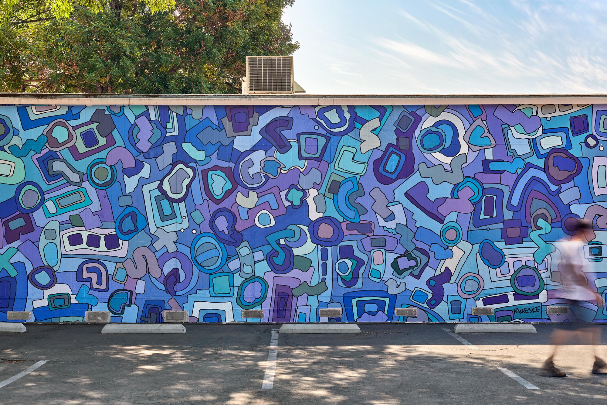 Tom Mueske, Mural, Los Angeles