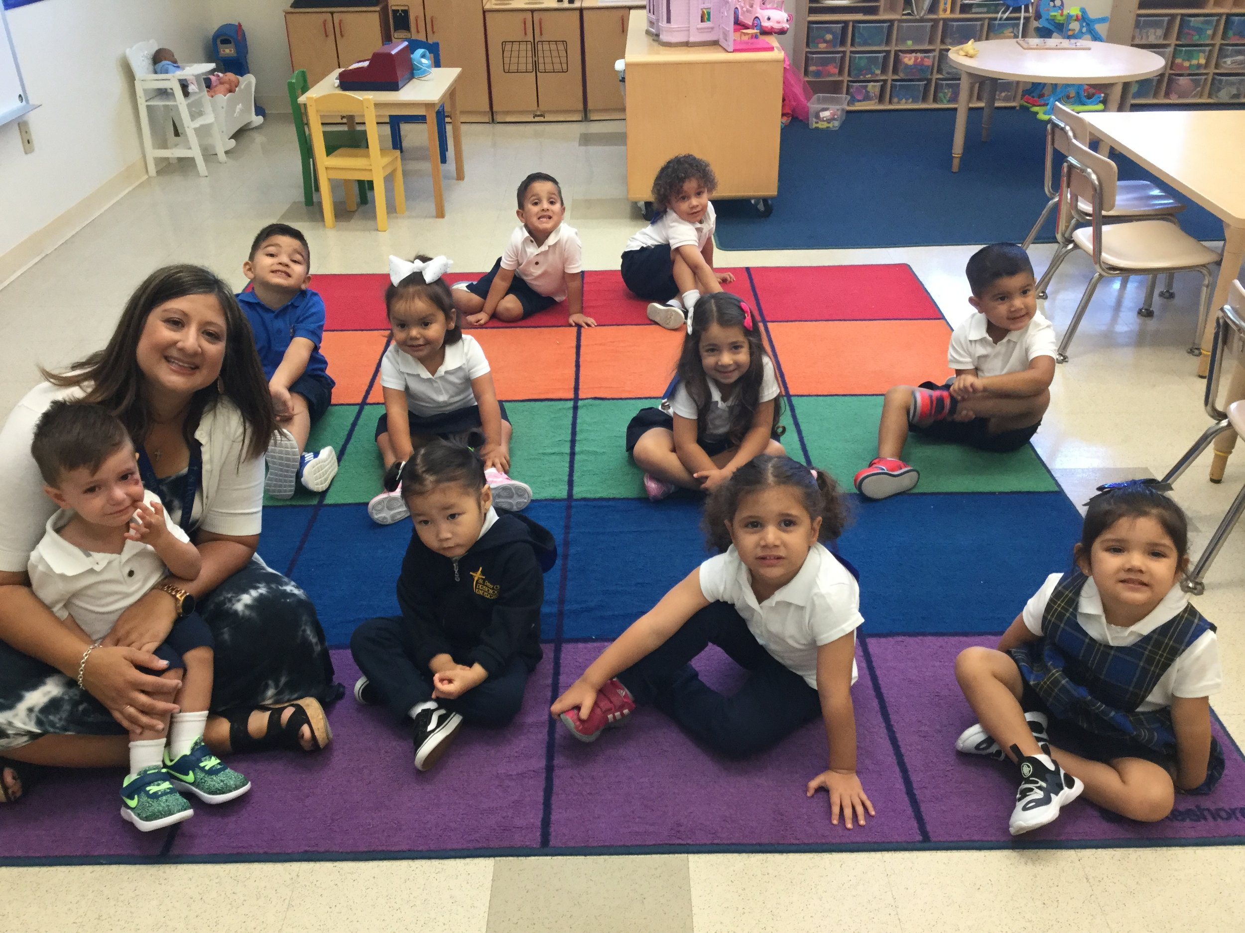 Our First Day of Preschool - Mon/Wed/Fri group