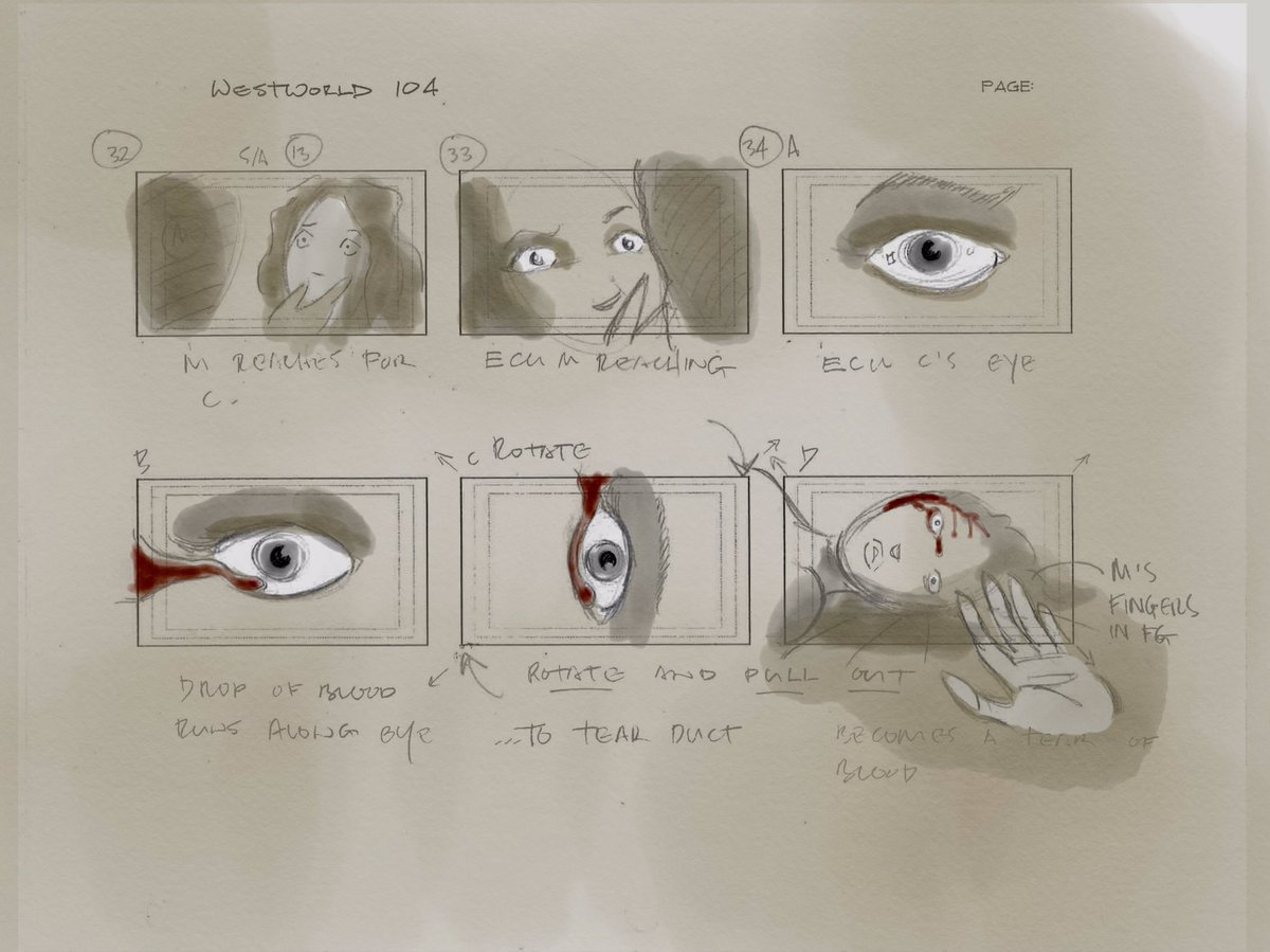 Vincenzo Natali Westworld Storyboard Page 3