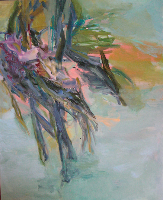 Florida Abstracted Nage V Oil on Canvas 60 x 48 Jeffcoat.jpeg