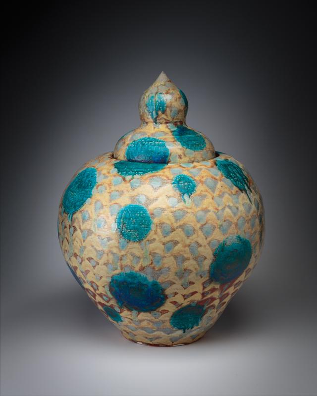 Big Lidded Jar (sold)