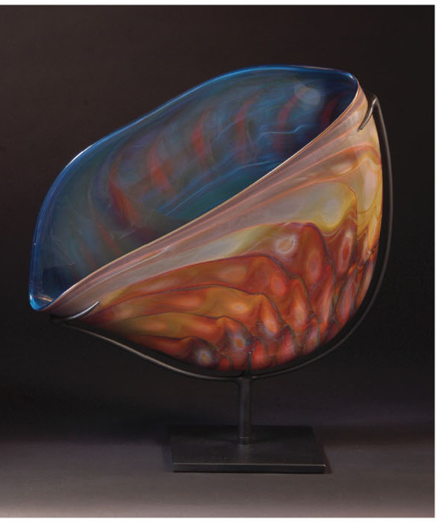 FACETS OF GLASS Elodie Holmes glass sculpture.jpg