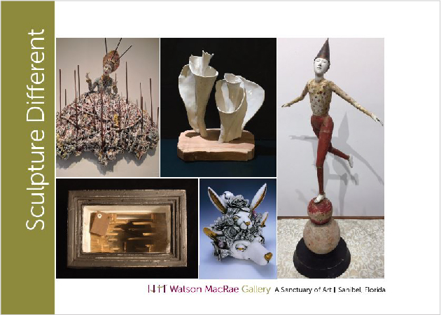Click image to enlarge  |Artists clockwise from top left – Kirsten Stingle, Annie Wainwright, Cathy Rose, Taylor Robenalt and Rick Araluce.
