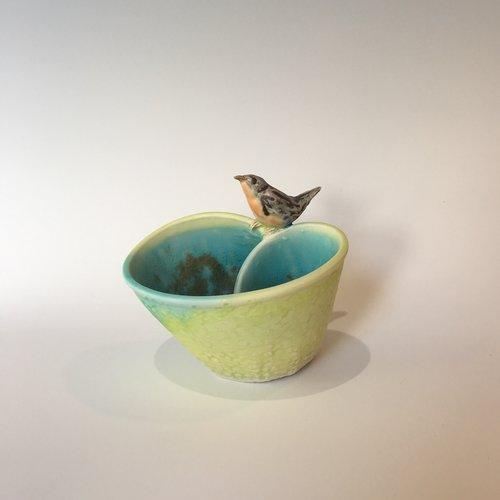 porcelain vessel, sold