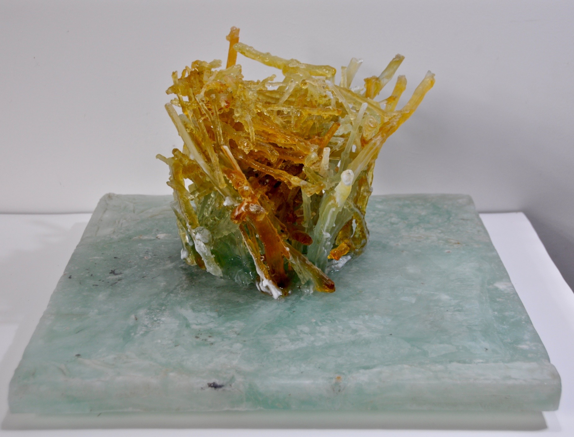 Thicket  cast glass