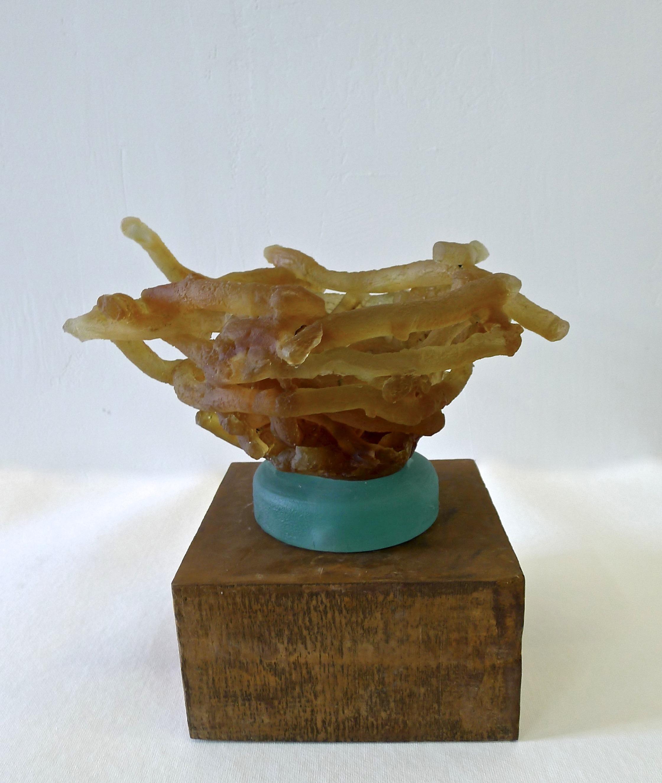 Nesting  cast glass