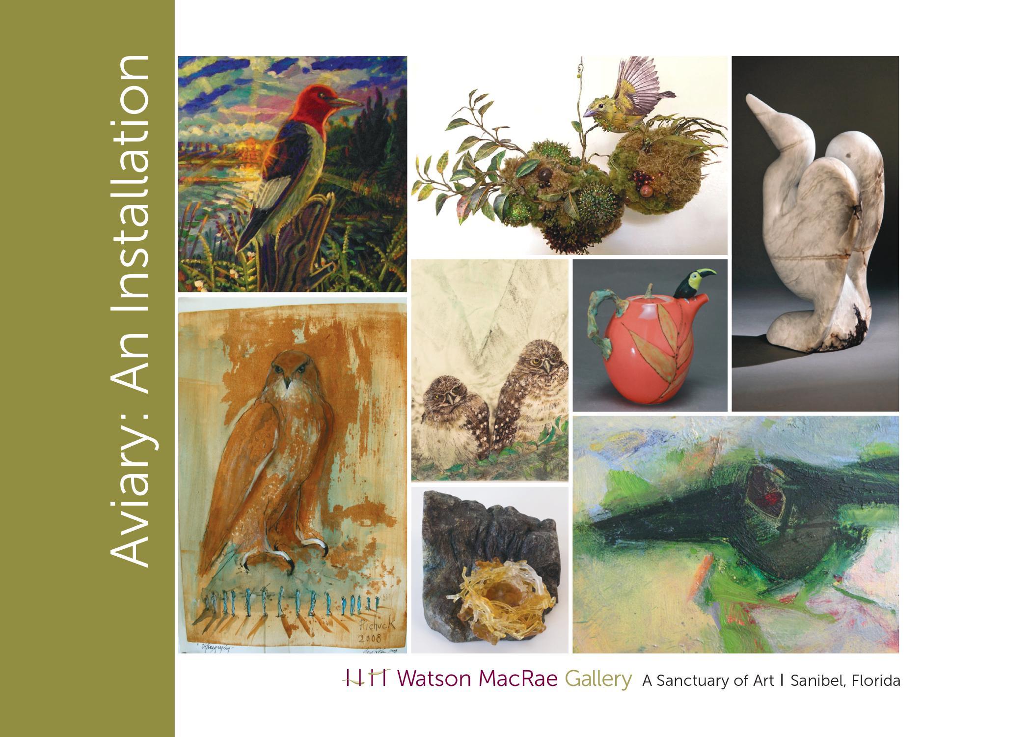 Click image to enlarge  | Artist from top left Mark Messersmith, Amy Gross, Jane Jaskevich, Jane Rosen, Deborah Martin, Lucy Dierks, Ann Hollingsworth and Hollis Jeffcoat