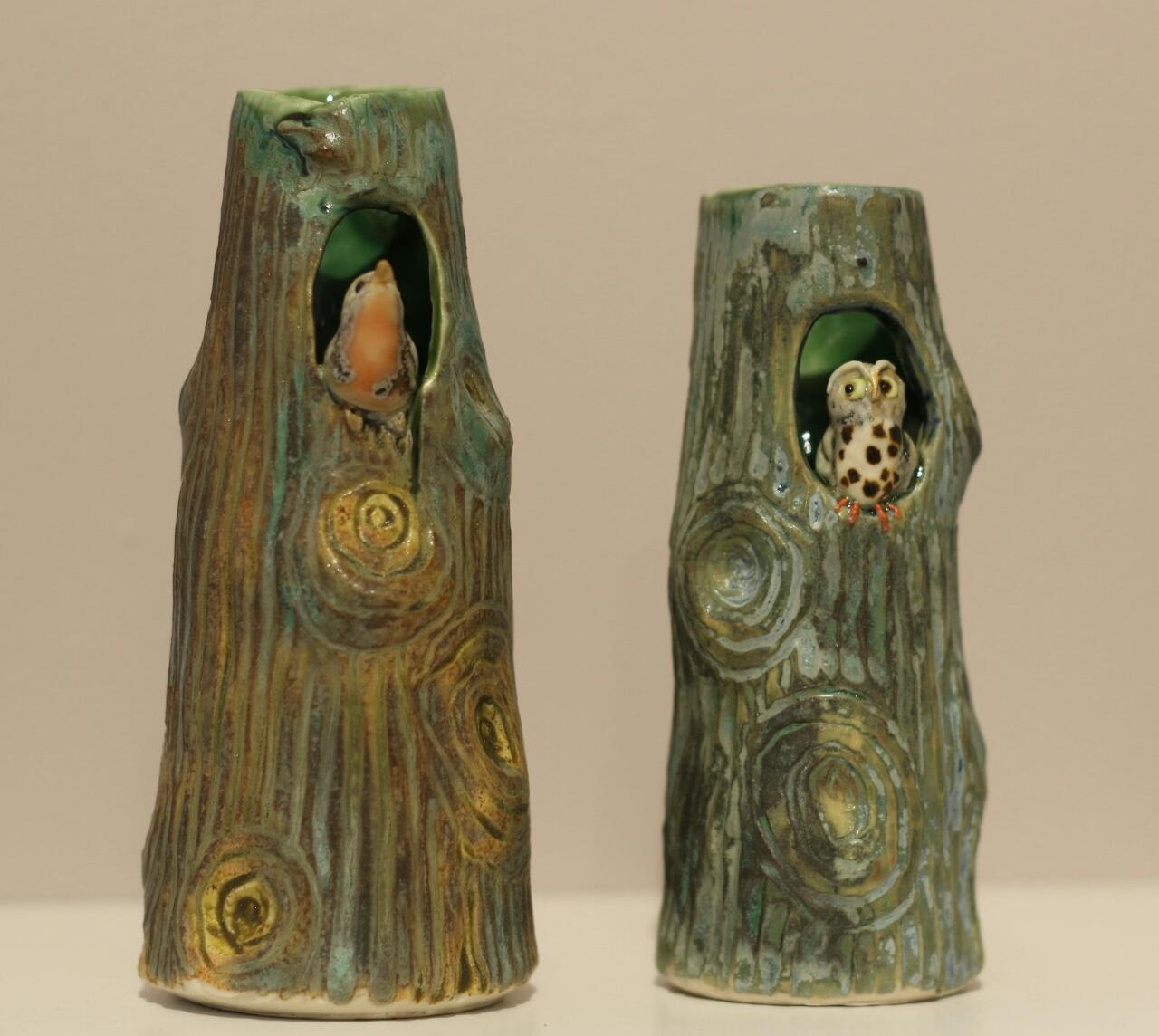 Porcelain Tree Vase