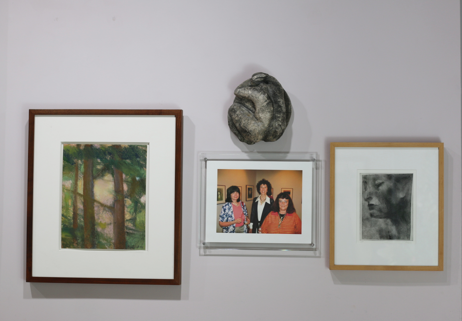 Inaugural exhibit with Hollis Jeffcoat, Deborah Masters and Patti Lipman