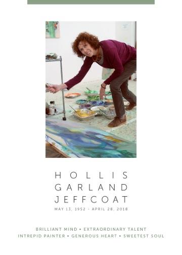 HOLLIS JEFFCOAT RETROSPECTIVE TRIBUTE November + December 2018