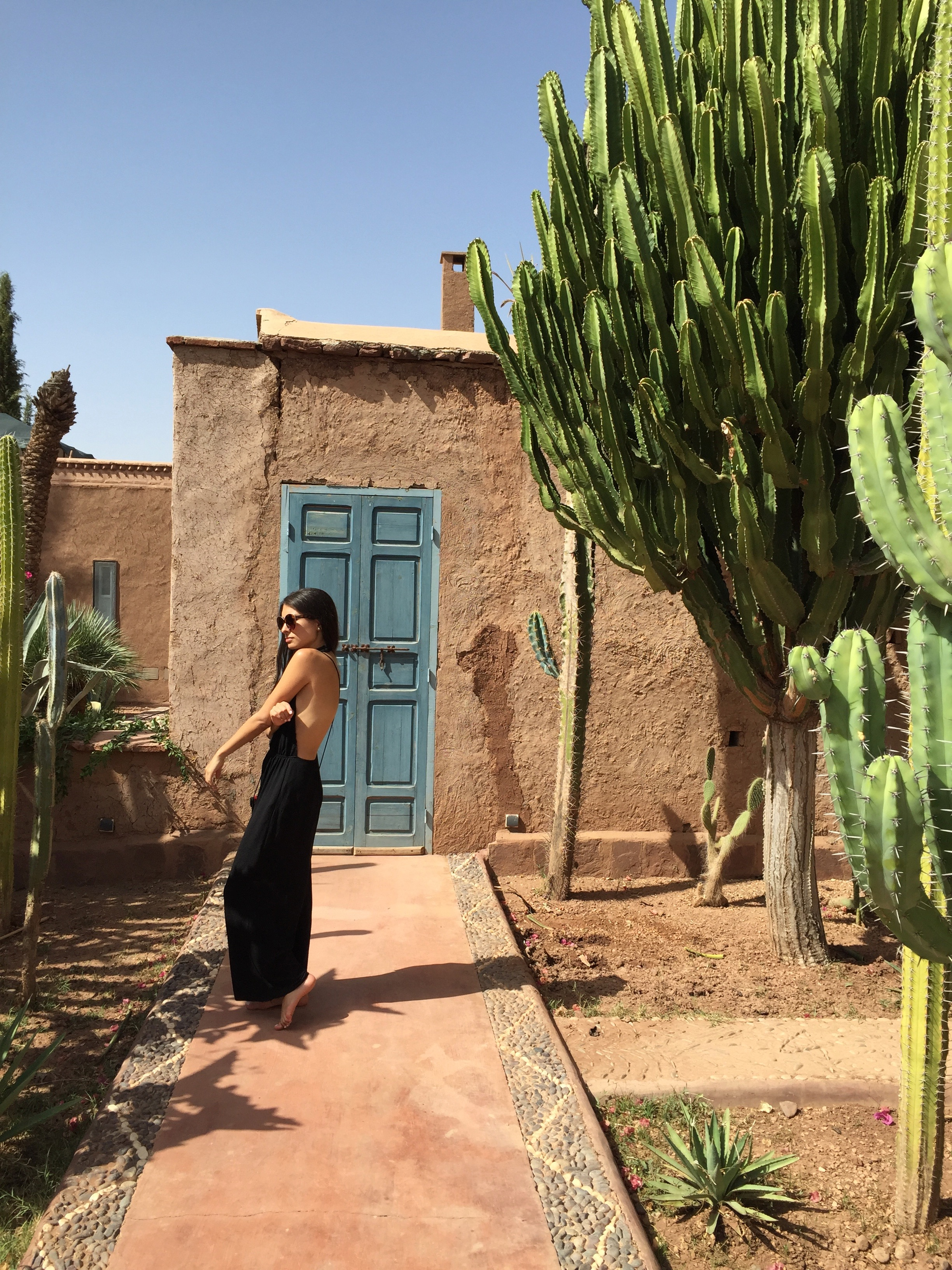 fer millan fernada millan travel Marrakech travel blog fashion blog Beldi country club