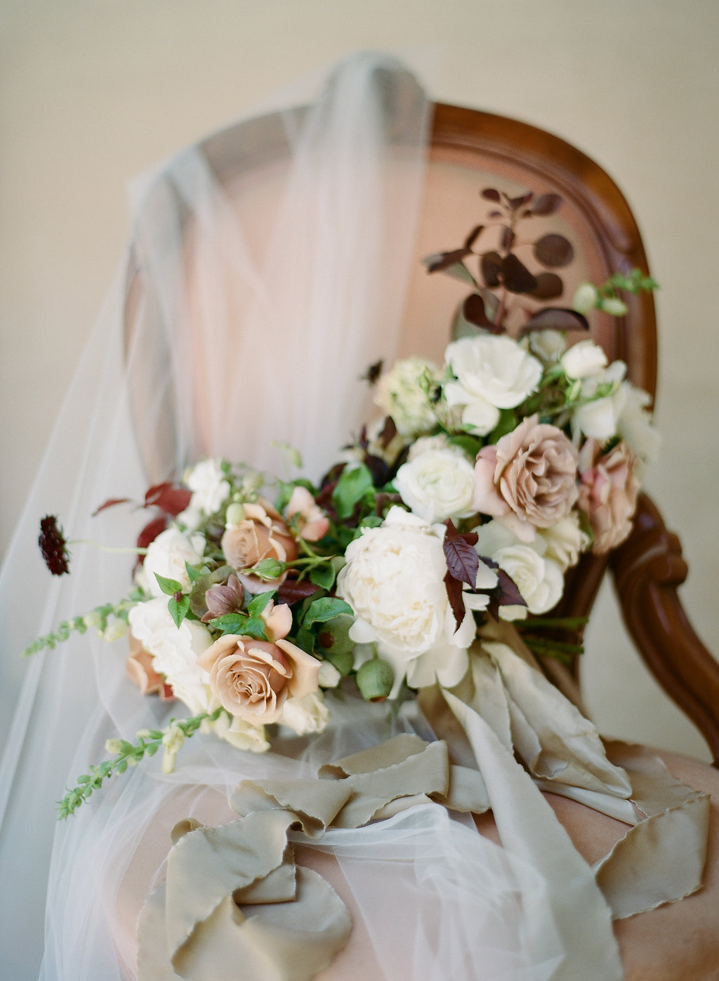 California Fine Art Wedding Bouquet