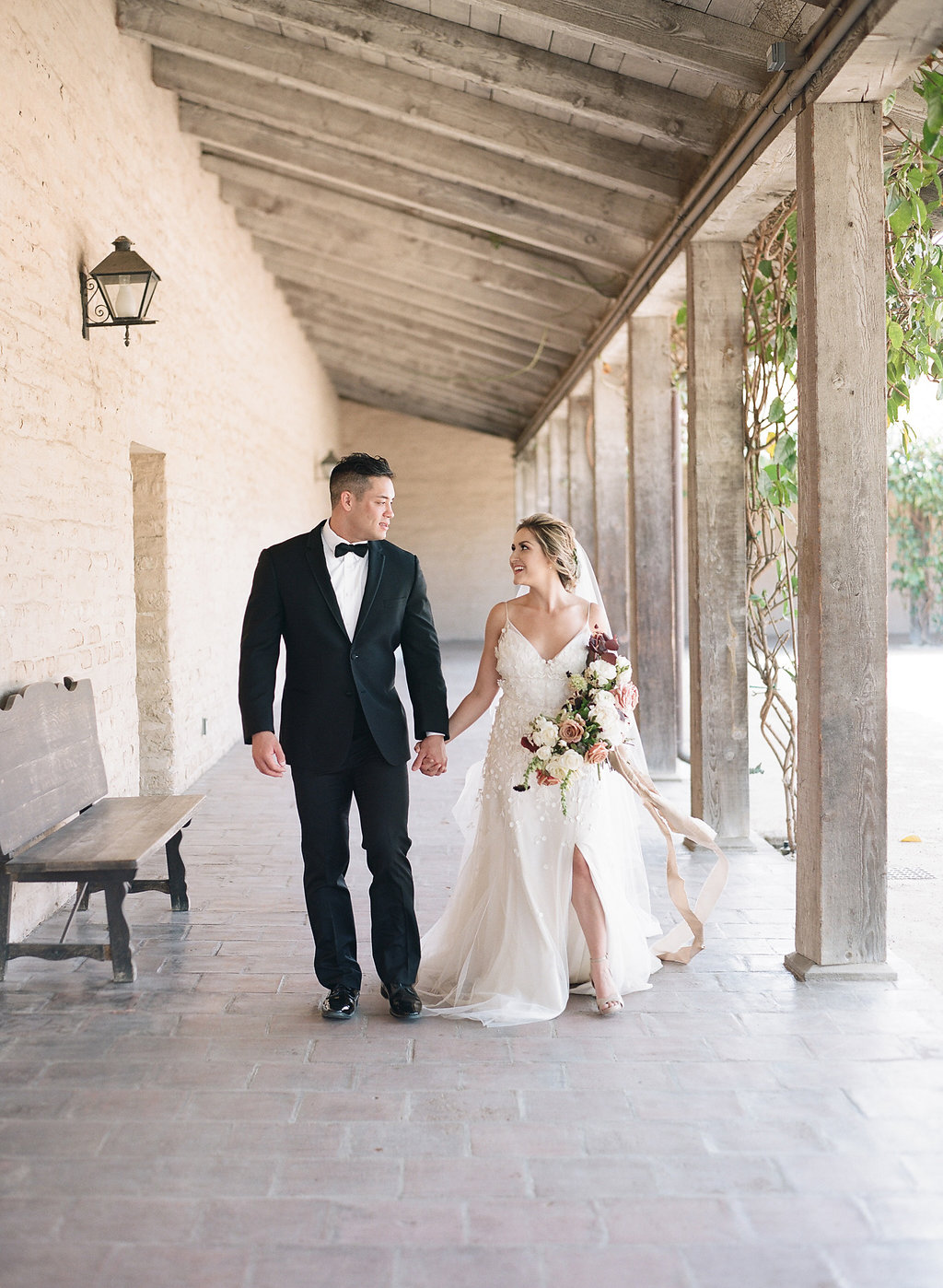 Fine Art Santa Barbara California Wedding with Fine Art Details and Florals
