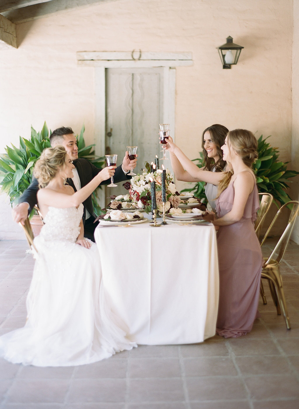 Dreamy Santa Barbara California Wedding with Fine Art Details and Florals