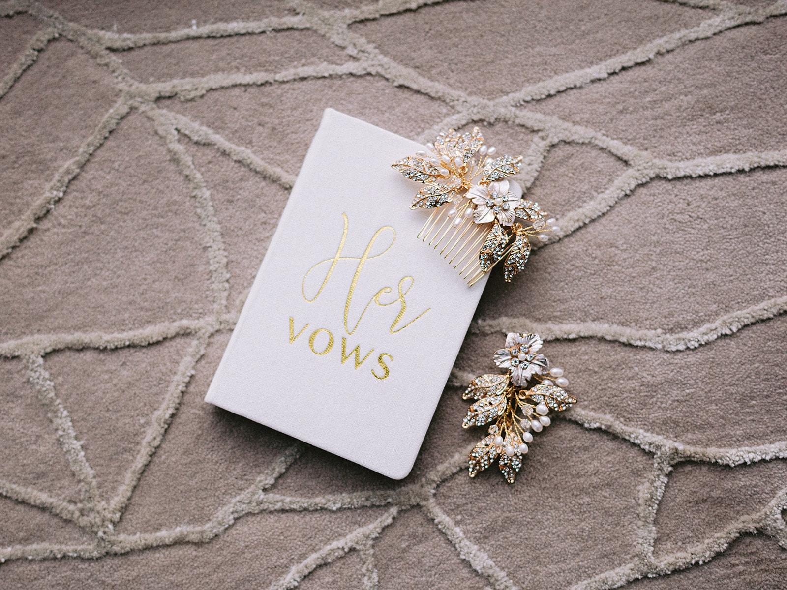 Wedding Day Vow Book