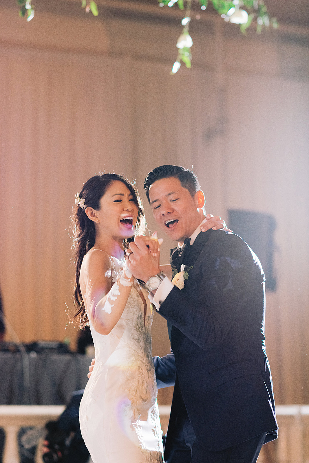 For Michelle and Soo's Modern Luxe wedding in the heart of downtown Houston, Spell Events…first dance fireworks