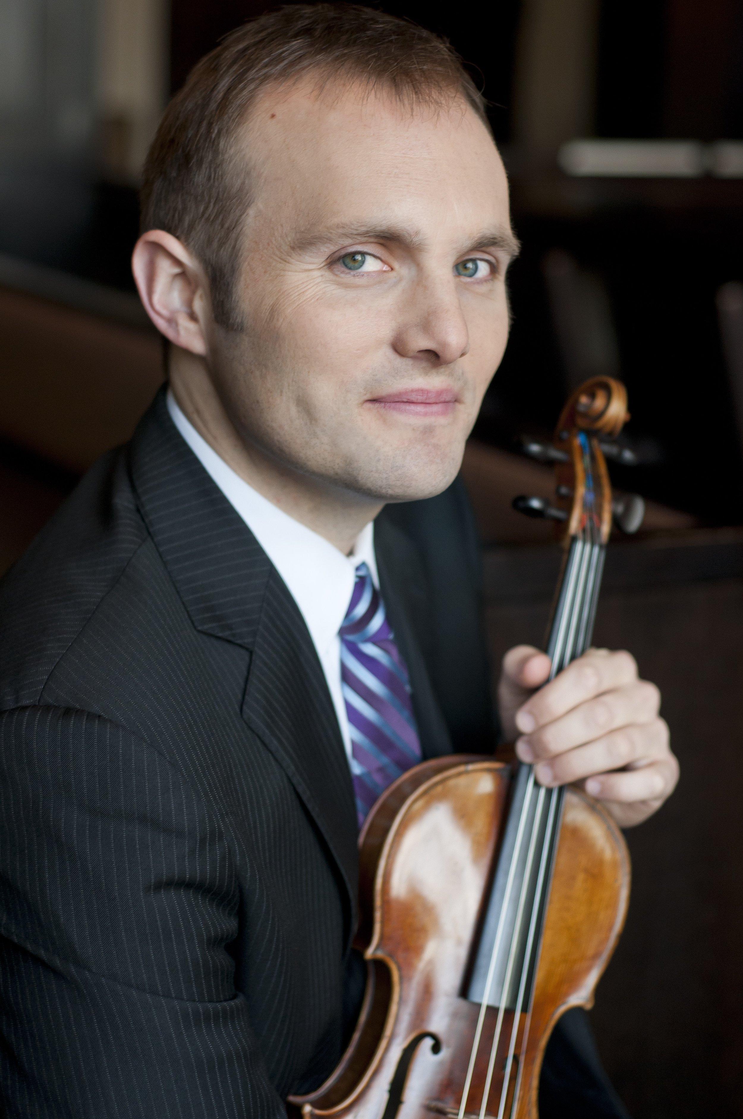 J Freivogel, violin I photo by Vanessa Briceno-Scherzer