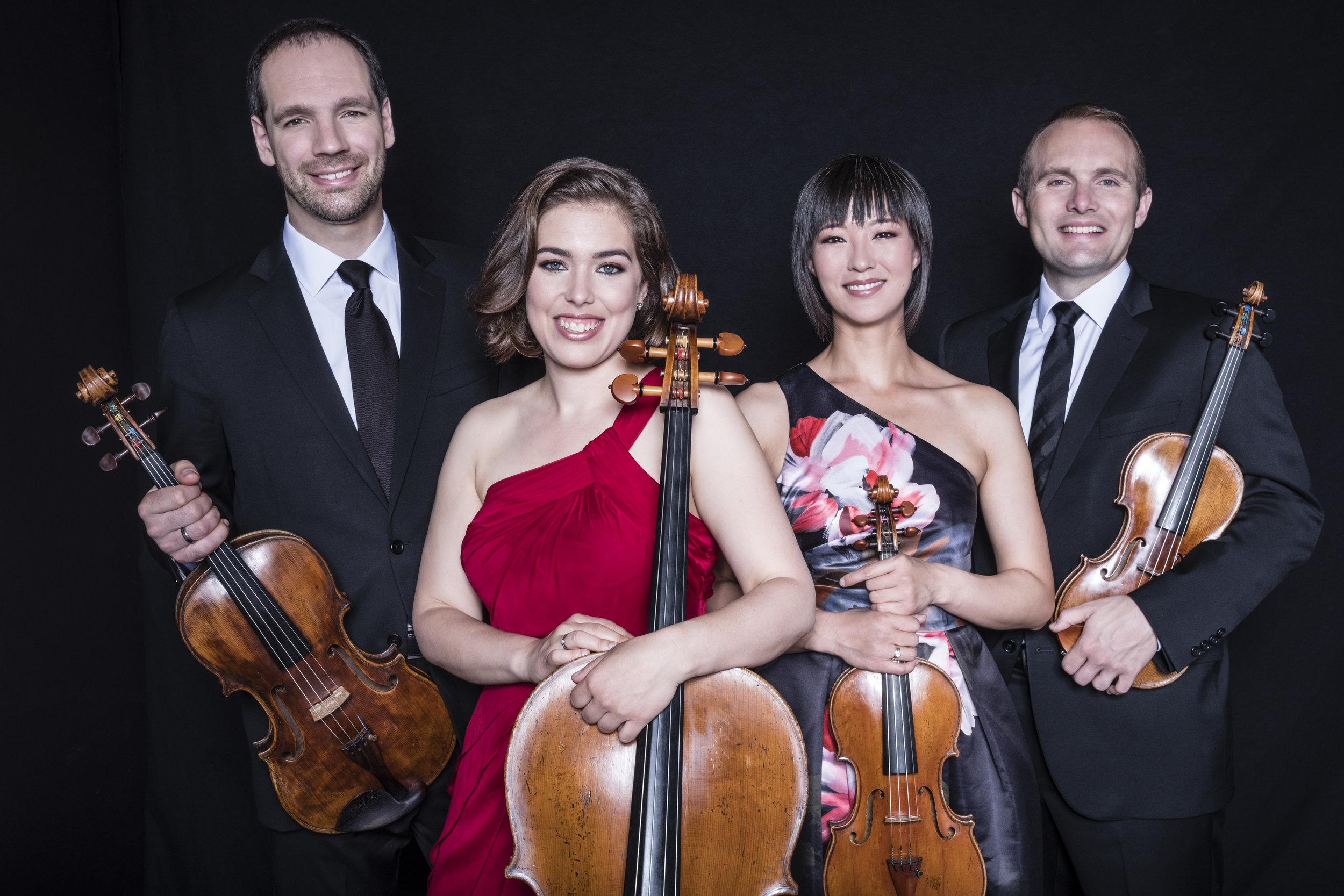 Jasper String Quartet Photo by Vanessa Briceno-Scherzer