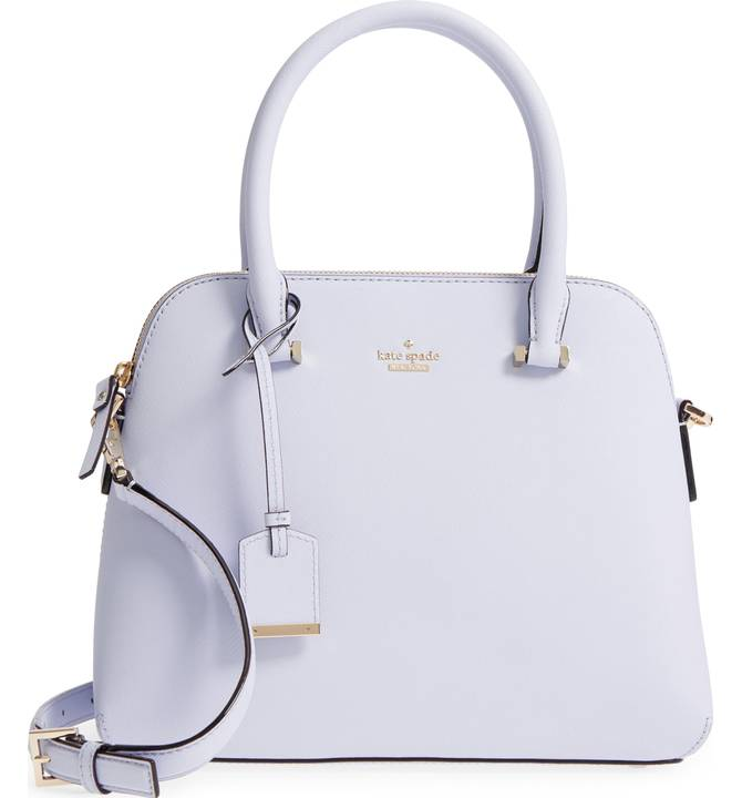 kate spade new york cameron street maise leather satchel - $298 -