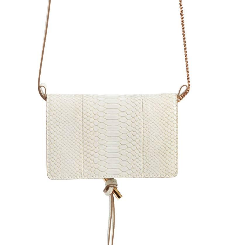 Stella McCartney Flo Alter Snake Faux Leather Crossbody Bag - $865 -