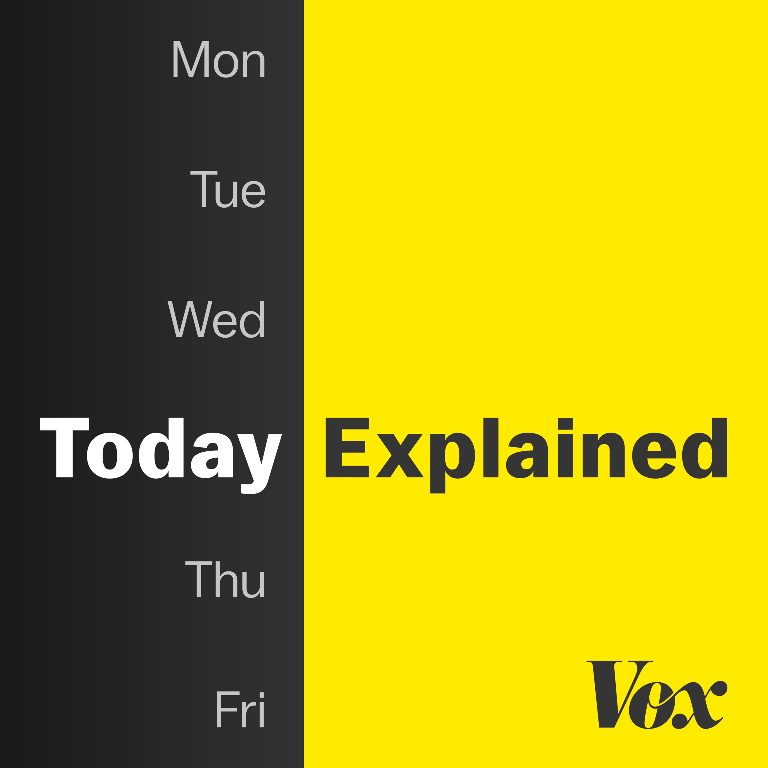 Today, Explained by Vox and Stitcher - With a transparent goal of helping process the rapid news flow,Today, Explainedis a great way to end your day. Reflect on today's happenings with some of the top voices at Vox, uploaded regularly.