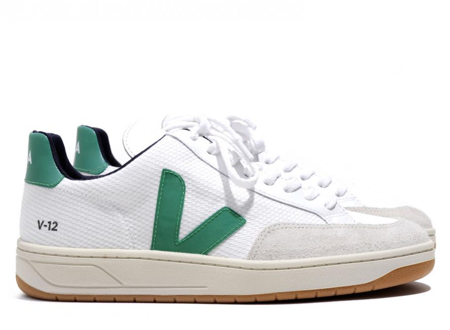Veja V-12 - Get these French kicks at Kith for $130.