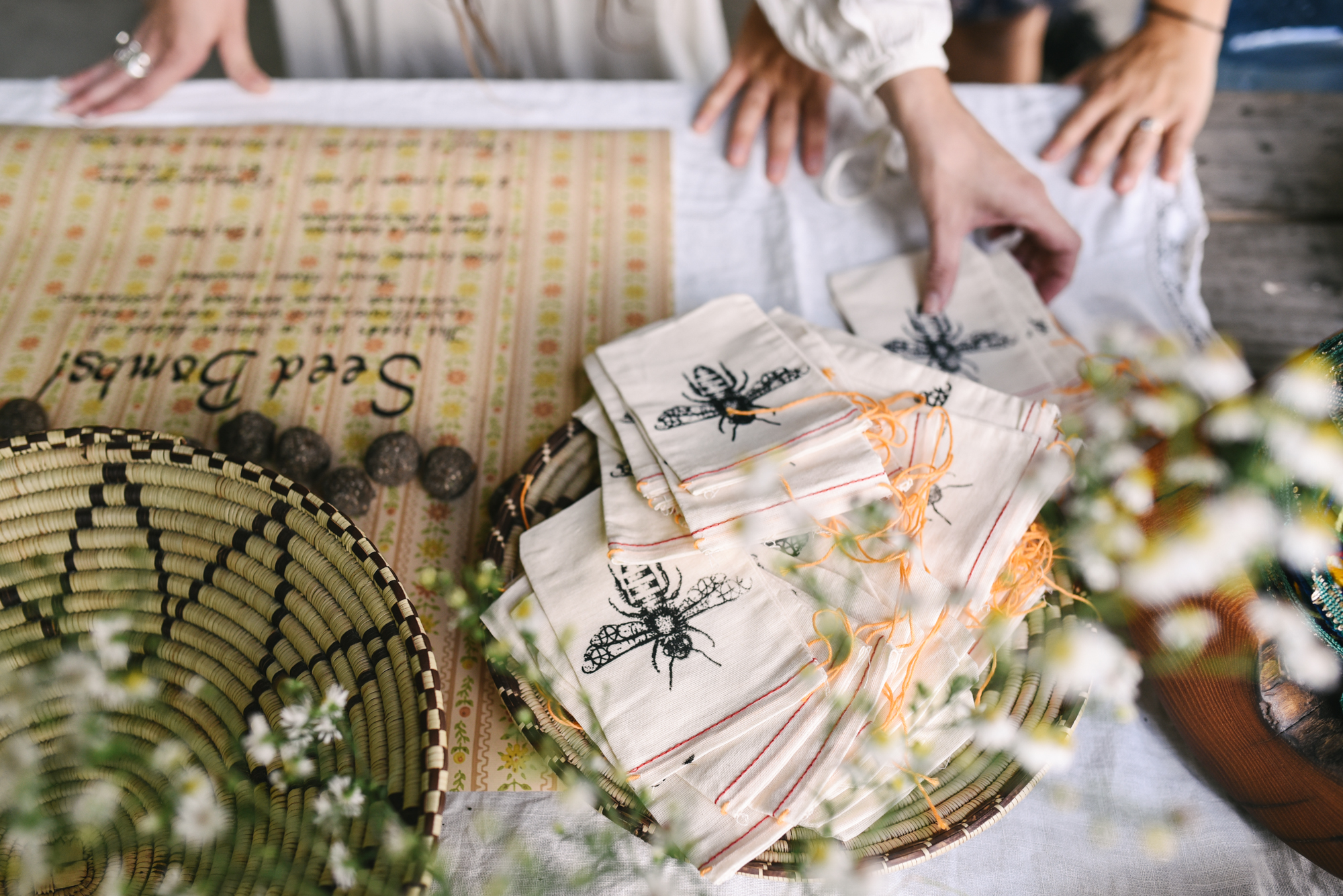 Mountains, Outdoors, Rustic, West Virginia, Maryland Wedding Photographer, DIY, Casual, Seed Bombs, Handmade Wedding Favors