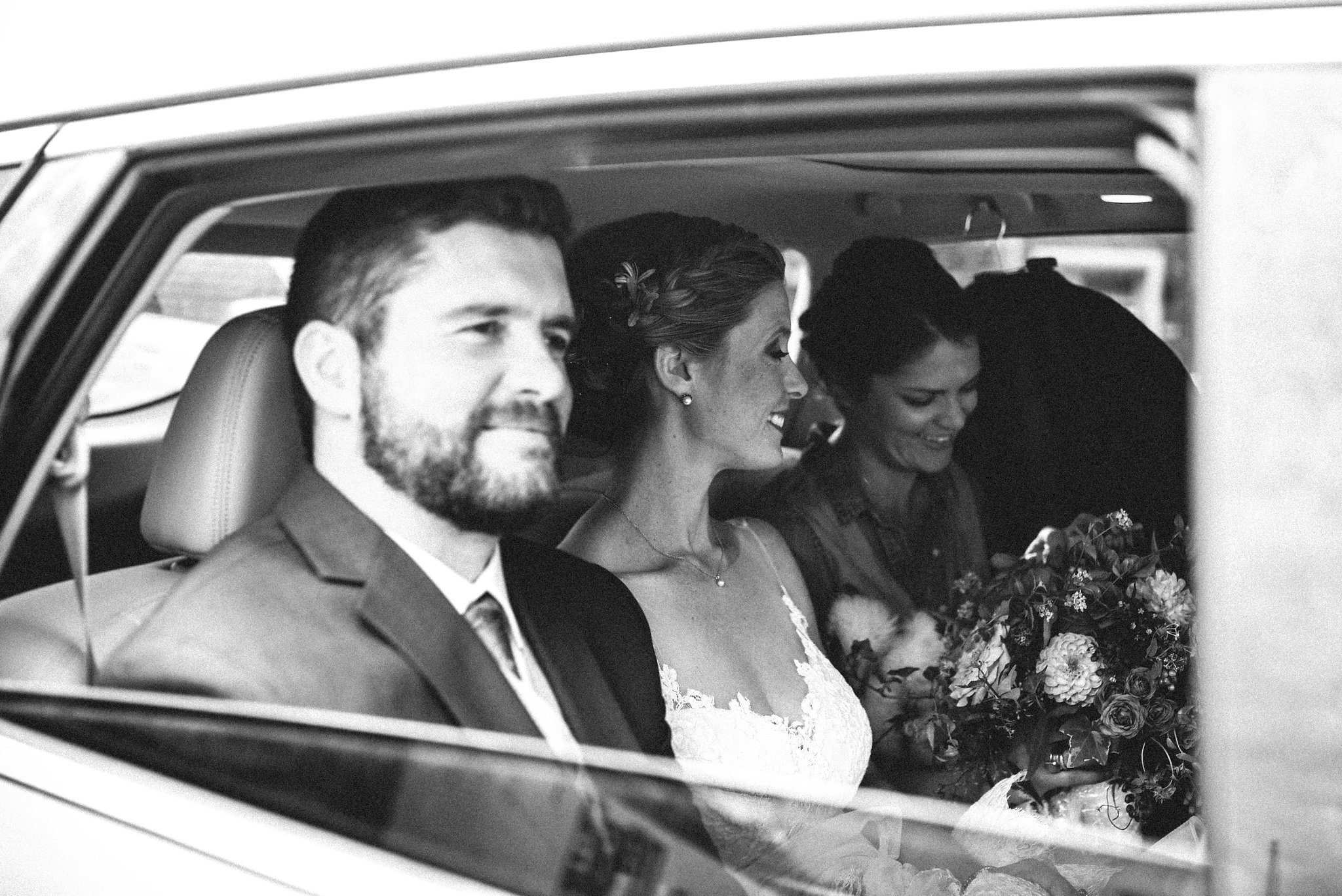Alexandria, Virginia, Fall Wedding, Autumn, Historic Wedding, Old Town, DC, Going to the Ceremony, Black and White, The London Bob Hair Design, JoS A. Bank Suit
