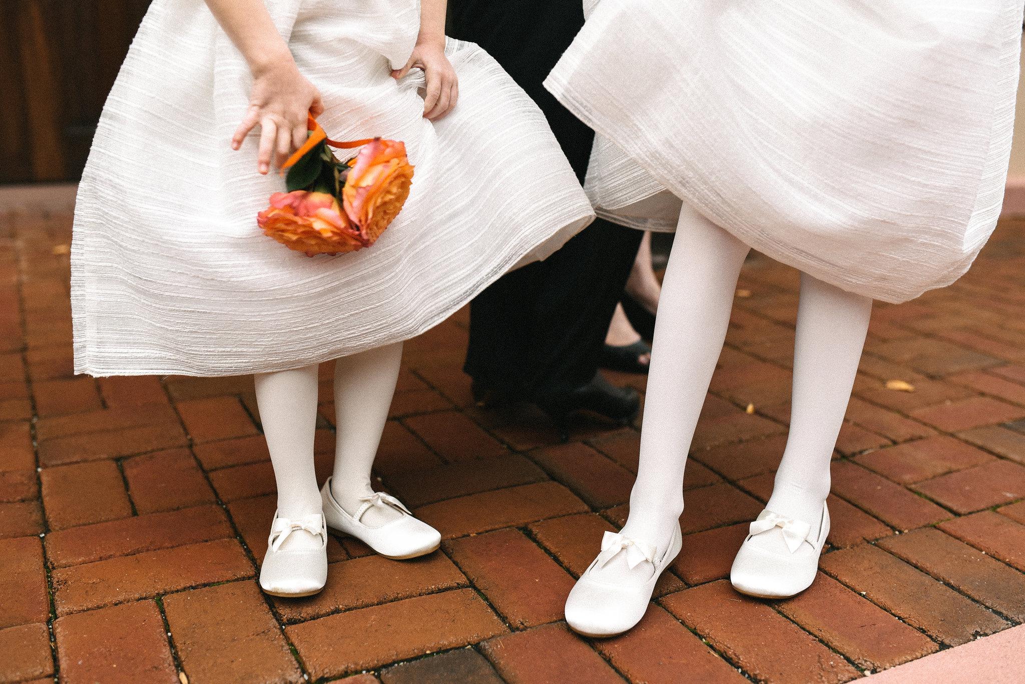 Alexandria, DC, Autumn Wedding, The Enchanted Florist, Wedding Party, Bridal Party, Flower Girl, Wedding Detail