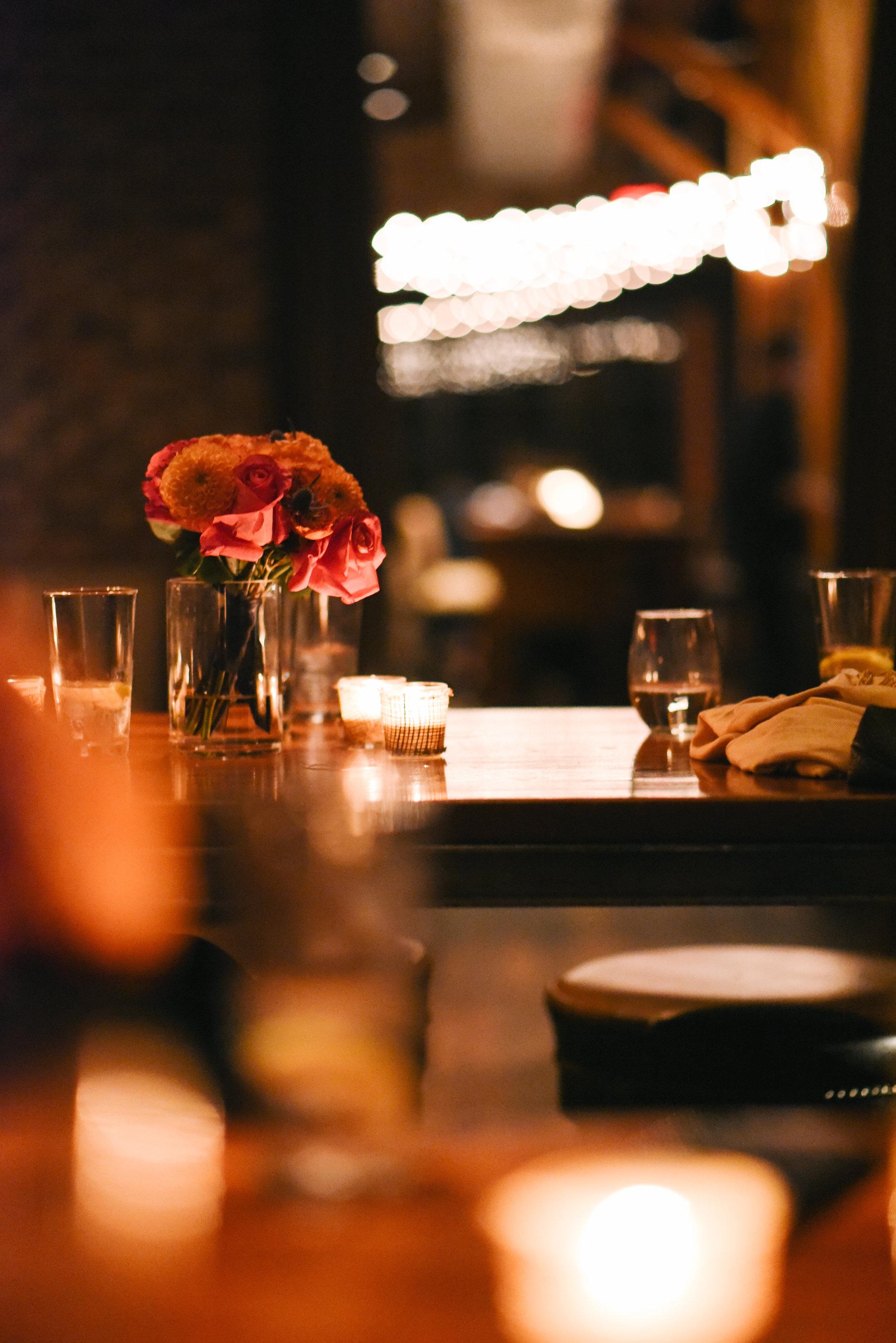 Alexandria, DC, Fall Wedding, The Enchanted Florist, Wedding Decor, Reception, Wedding Details, Virtue Feed and Grain