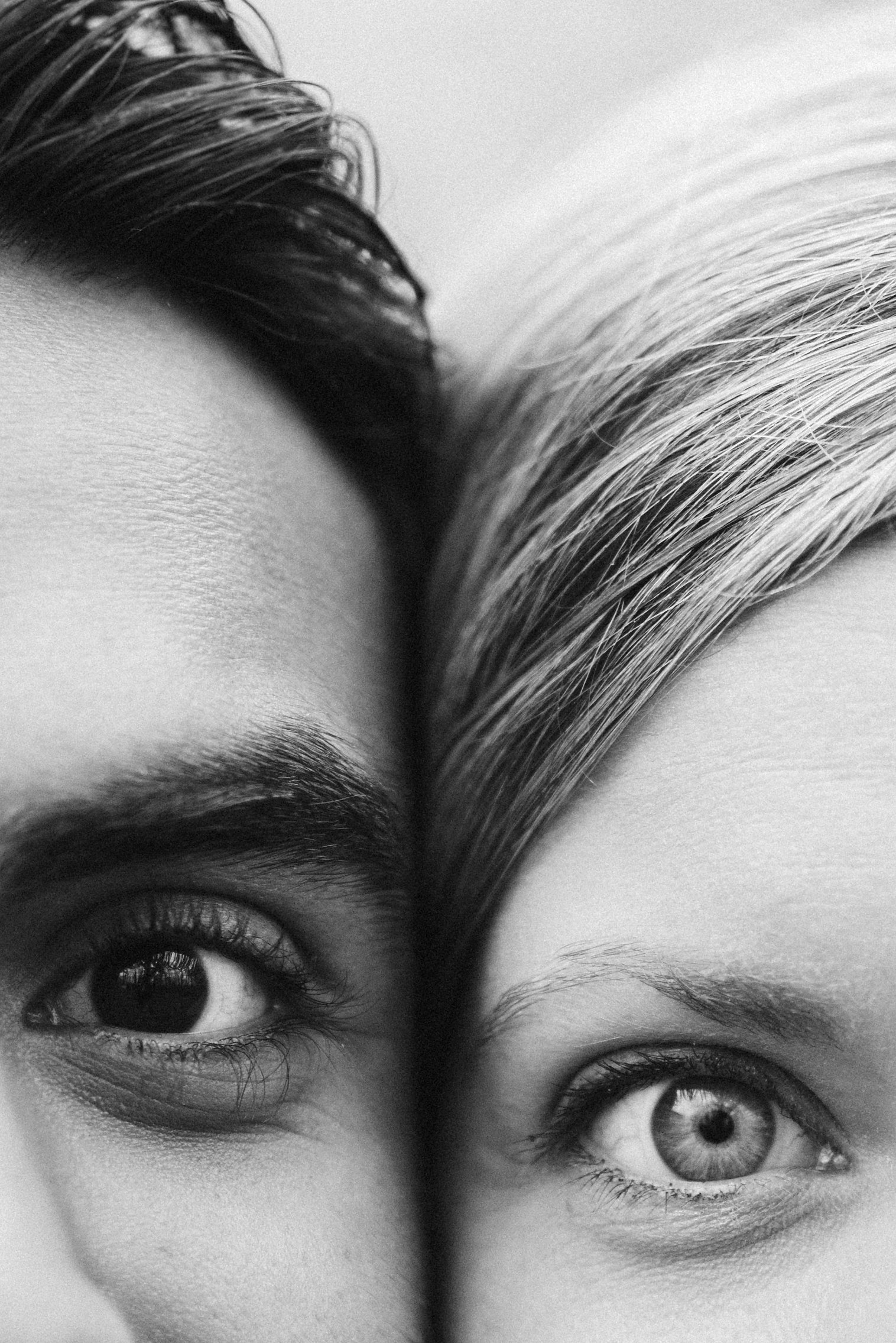 Engagement Photos, Rainy, Ellicott City, Maryland Wedding Photographer, Winter, Overhills Mansion, Indian American, Historical, Classic, Bride and Groom, Close Up Photo, Black and White Photo