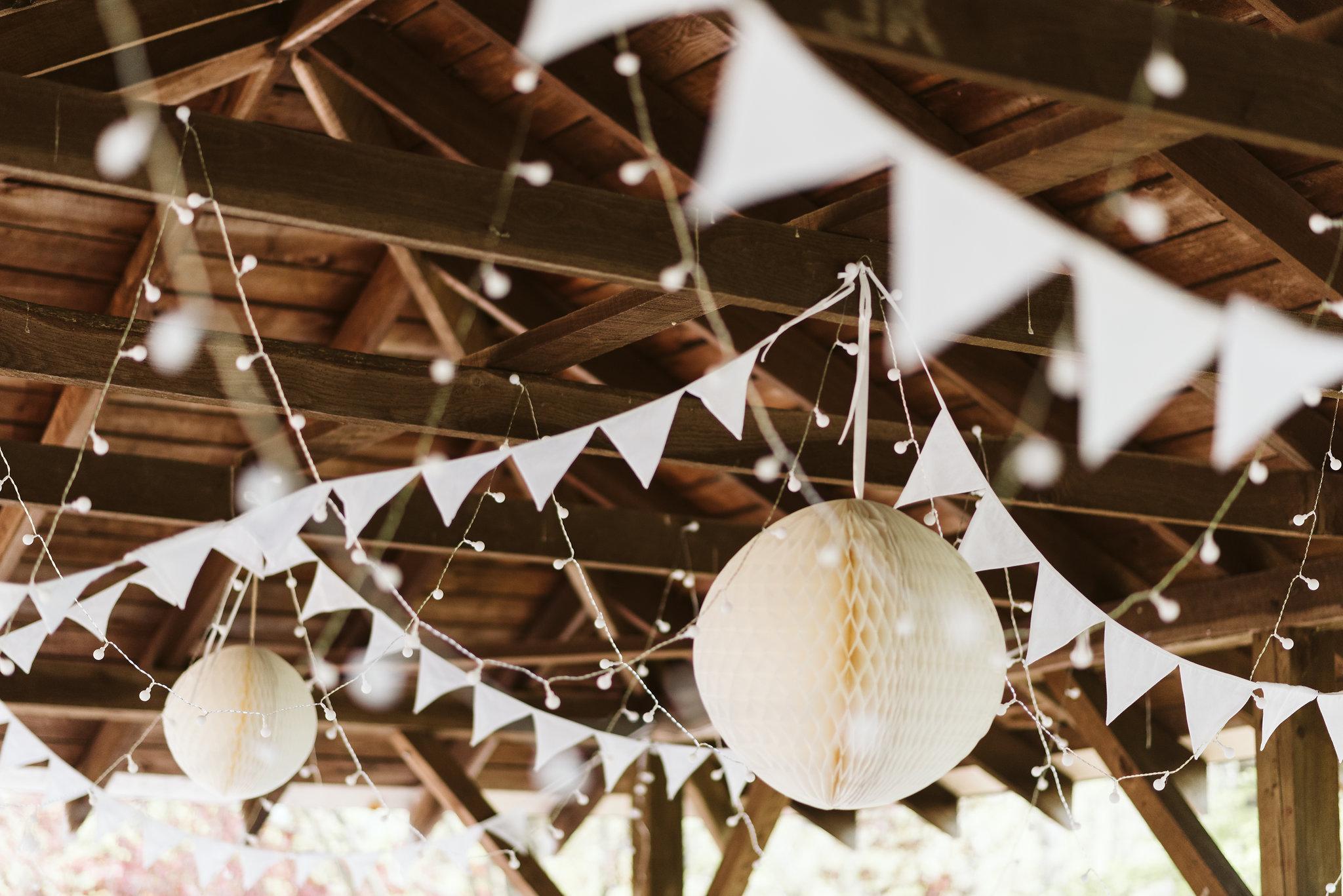 Spring Outdoor Wedding, Park, Baltimore Wedding Photographer, DIY, Classic, Upcycled, Garden Party, Romantic,, White Bunting, Decor