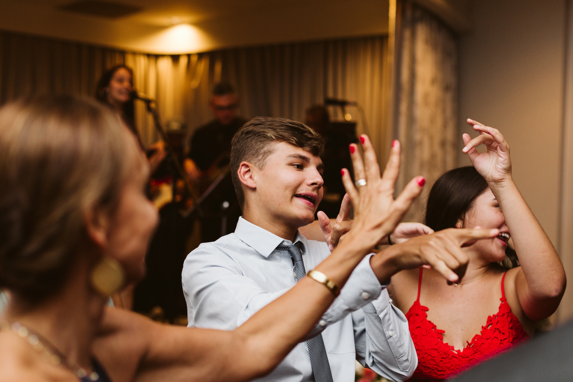 Elegant, Columbia Country Club, Chevy Chase Maryland, Baltimore Wedding Photographer, Classic, Traditional, Wedding Guests at Reception, Guests Dancing