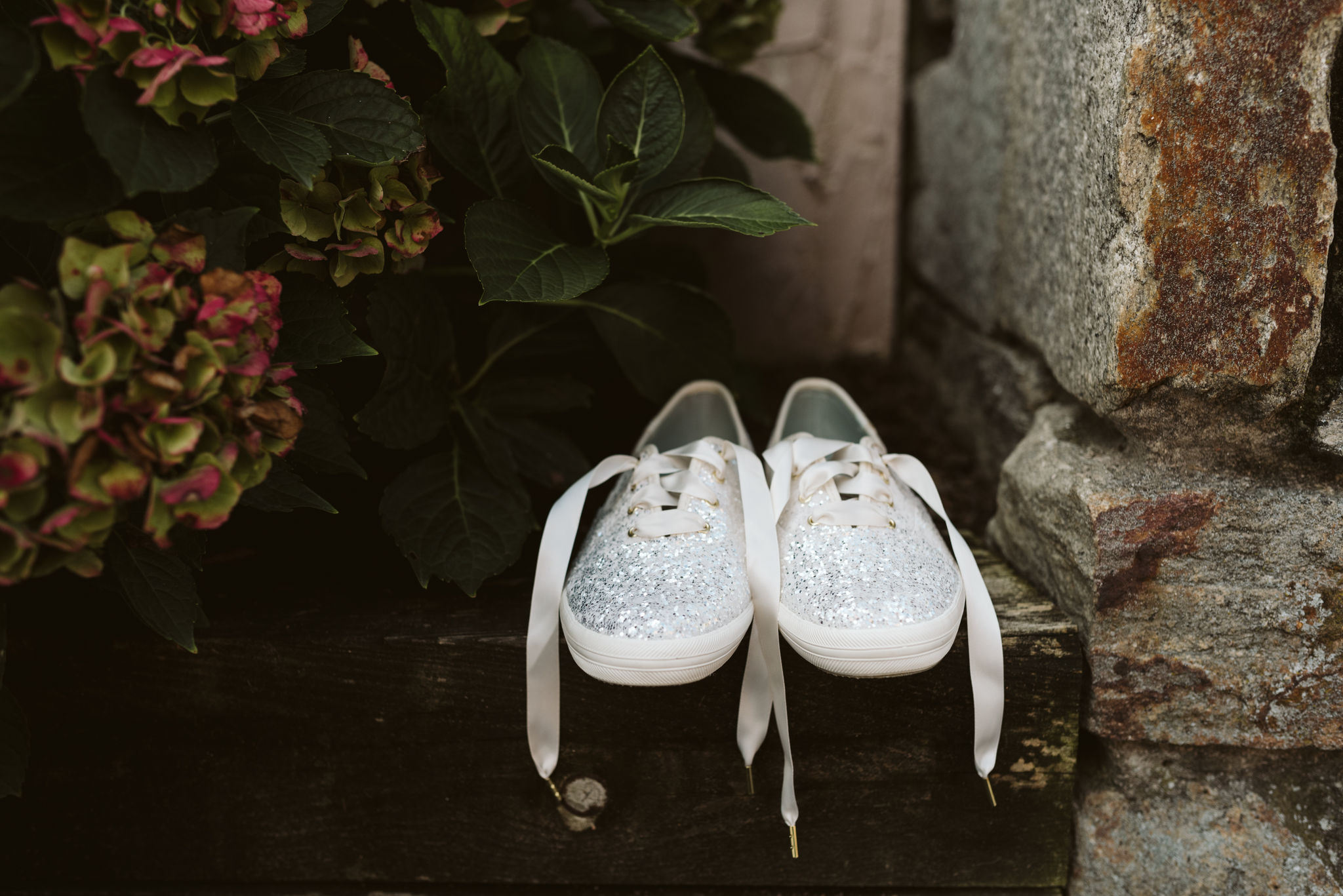 Phoenix Maryland, Baltimore Wedding Photographer, Eagle's Nest Country Club, Classic, Romantic, Spring, Bridal Shoes, Glitter Keds