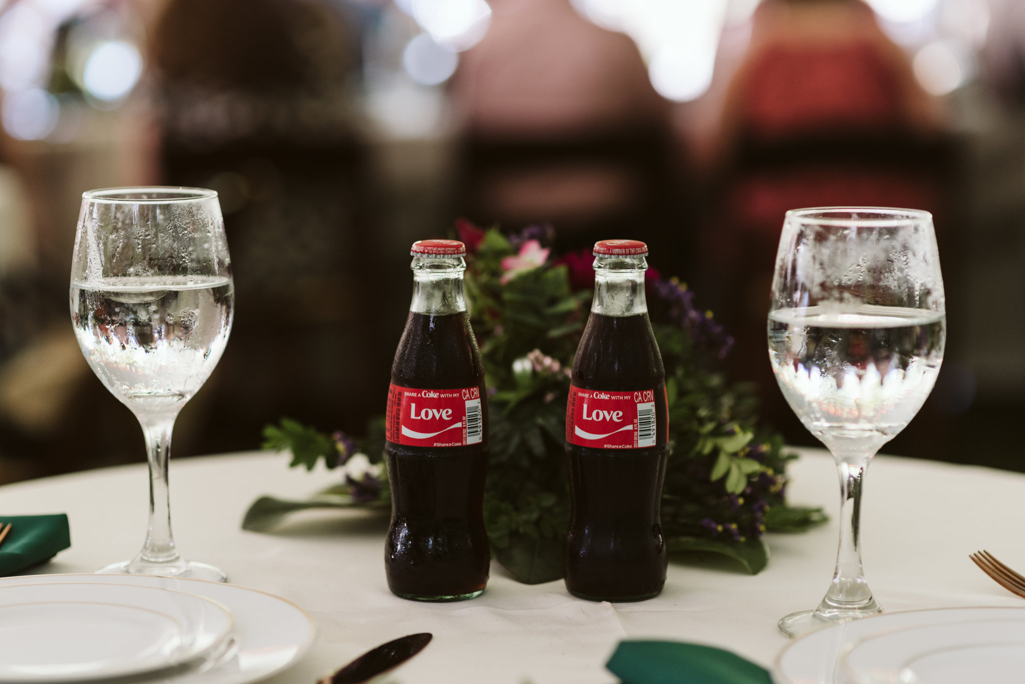 Annapolis, Quaker Wedding, Maryland Wedding Photographer, Intimate, Small Wedding, Vintage, DIY, Coke with Love Labels, Wedding Reception Decor