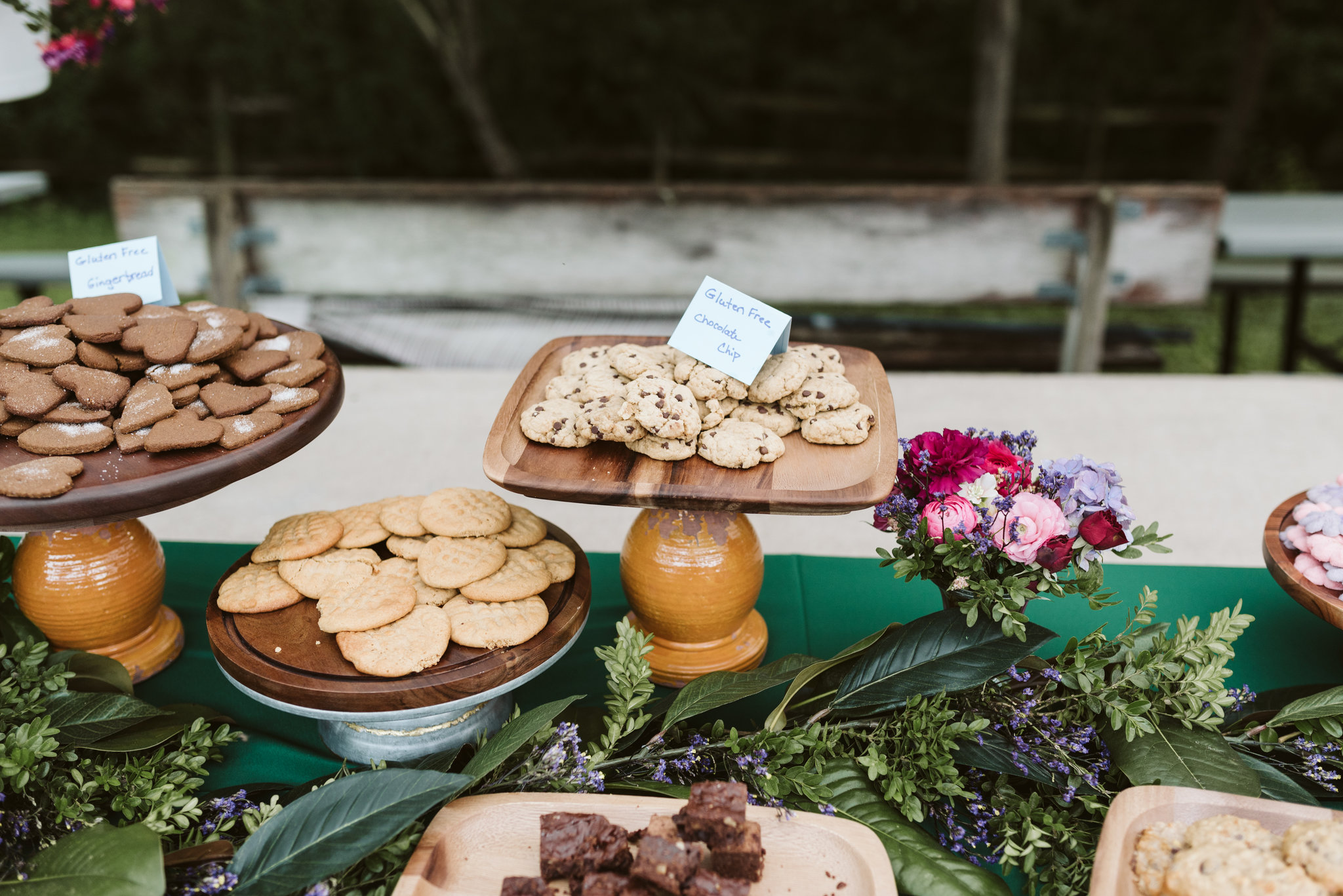 Annapolis, Quaker Wedding, Maryland Wedding Photographer, Intimate, Small Wedding, Vintage, DIY, Cookie Table, Gluten Free Cookies, Dessert Table
