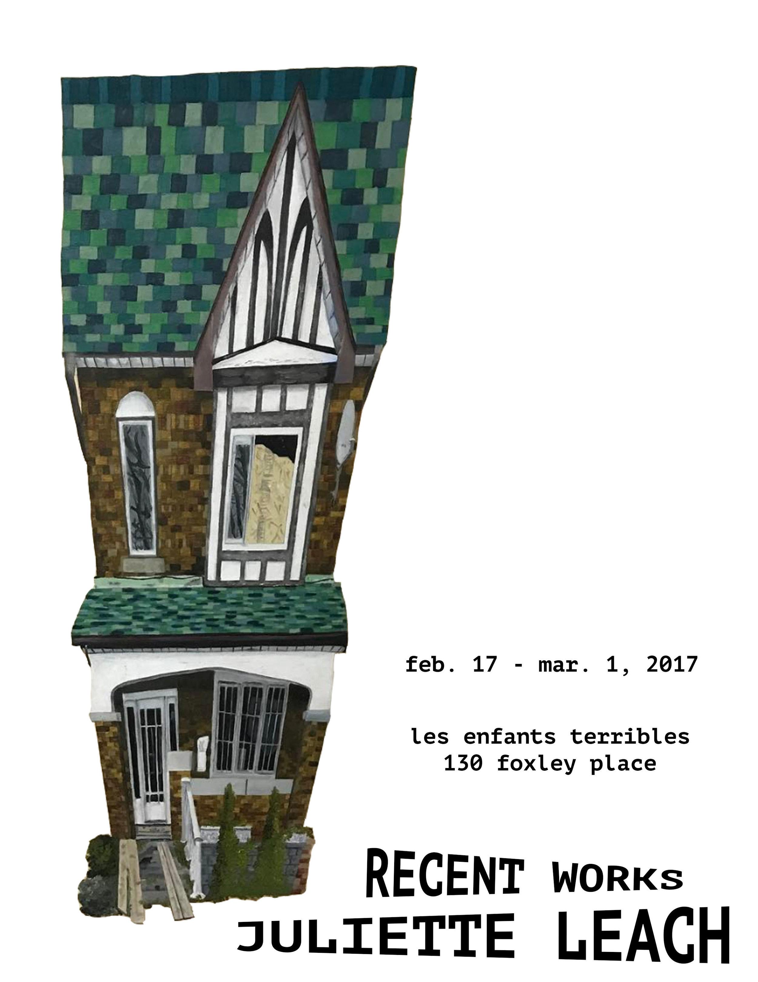 Recent Works: Juliette Leach