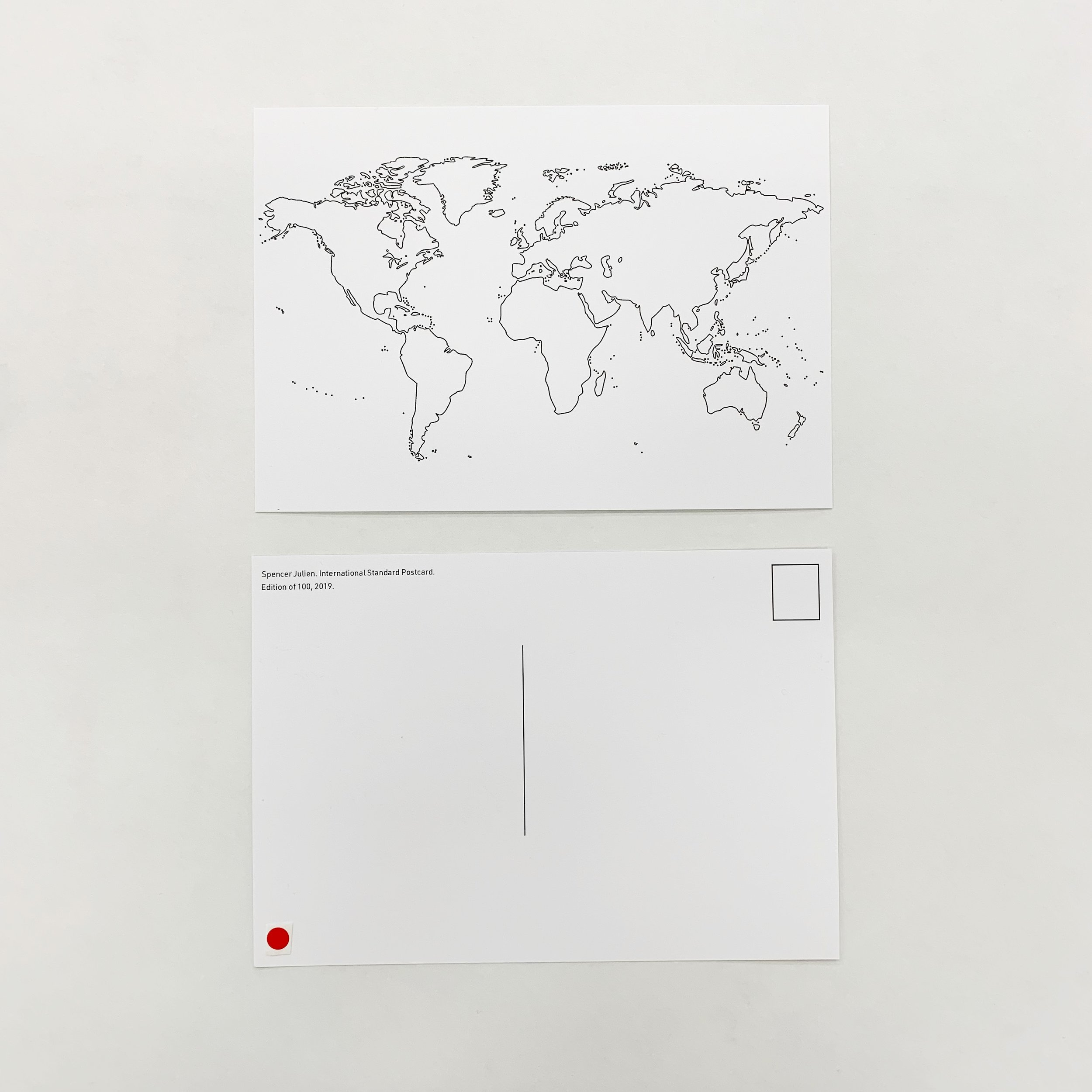 International Standard Postcard, 2019