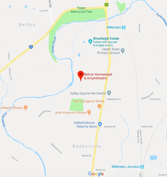 Belvoir Homestead, 1177 Great Northern Hwy, Upper Swan, WA6069