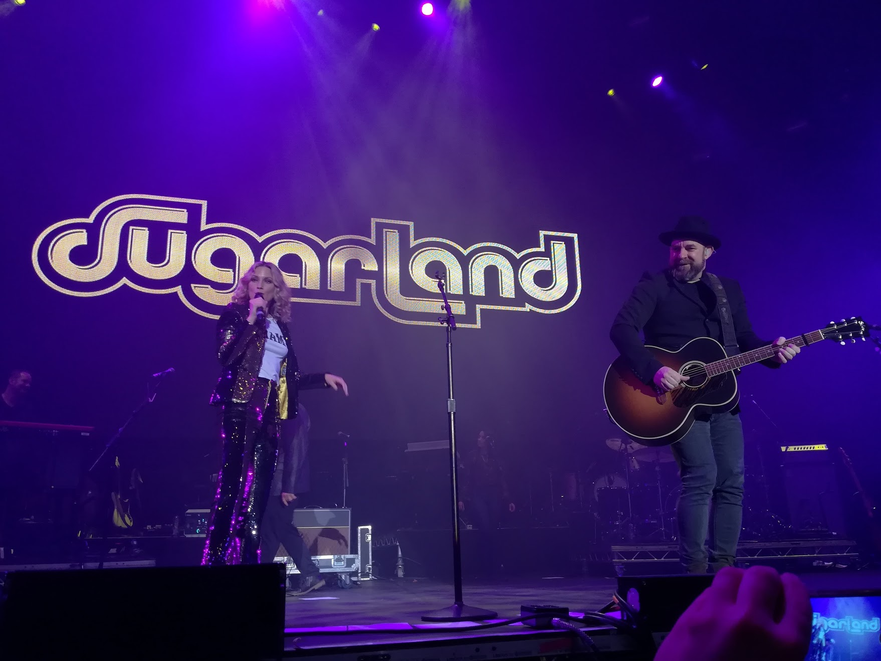 Sugarland: il primo grande ritorno è avvenuto proprio al C2C di Dublino.