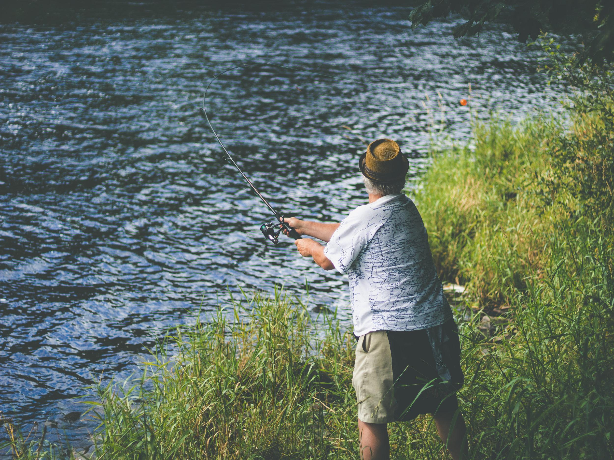 Vincent et l'école de pêche