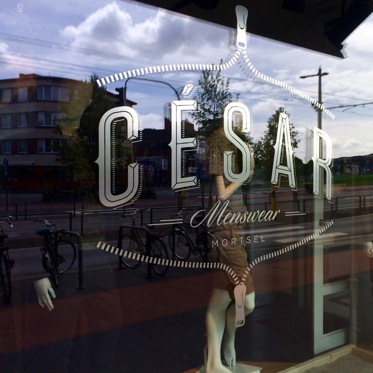 MORTSEL - CESAR MENSWEARStatielei 1312640 Mortselwww.cesarmenswear.beOpen monday - saturday (10:00 - 18:00)Closed on sunday