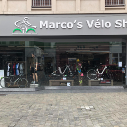 TONGEREN - Marco's Vélo ShopMaastrichterstraat 993700 Tongerenwww.marcosveloshop.comOpen tuesday - saturday( (09:00 - 18:00)Closed on sunday and monday