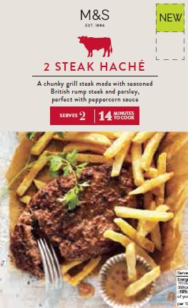 Steak Haché, September 2016  The flavour and succulence of a steak combined with a value of a burger.